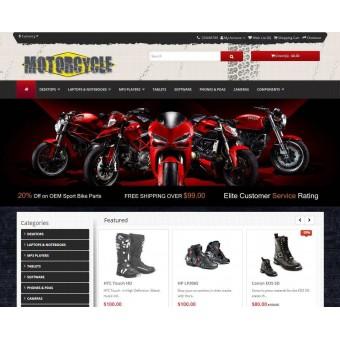 a Motorcycle & Car