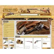 A Gun Shop (Old West)